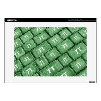 Pi Grunge Style Pattern Laptop Decal