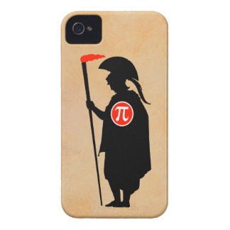 Pi Guy Early Greek iPhone 4 Cover