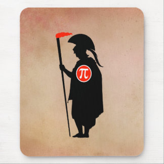 Pi Guy Early Greek Mouse Pad