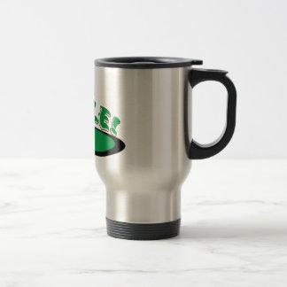 PI Hole - MATH HUMOR - GOLF Travel Mug