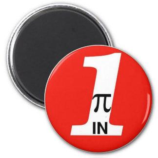 PI-IN-ONE Oil Alt. 2 Inch Round Magnet
