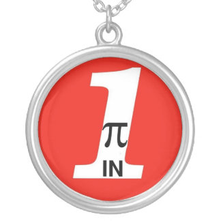 PI-IN-ONE Oil Alt. Round Pendant Necklace