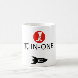 PI-IN-ONE Oil Classic White Coffee Mug