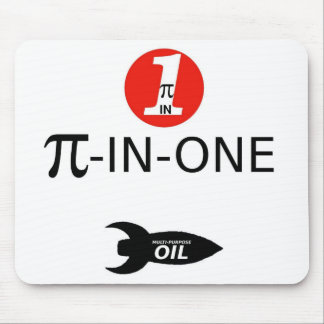PI-IN-ONE Oil Mouse Pad
