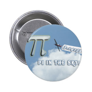 PI IN THE SKY! BUTTONS