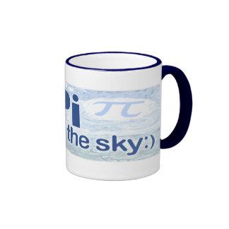 Pi in the Sky by Mudge Studios Coffee Mugs