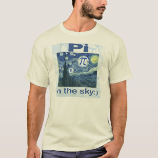 Pi in the Sky by Mudge Studios T-Shirt