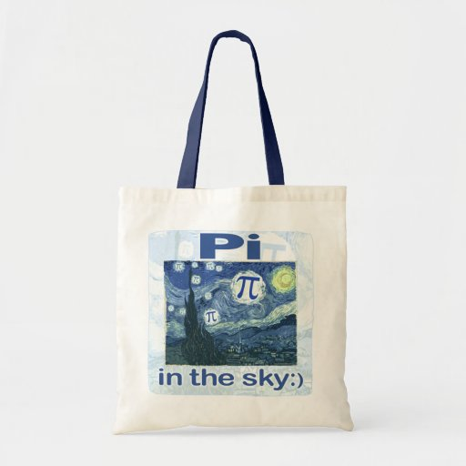 Pi in the Sky by Mudge Studios Tote Bags
