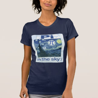 Pi in the Sky by Mudge Studios Tshirts