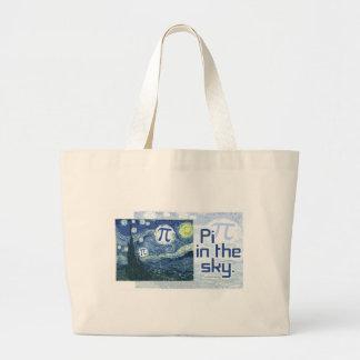 Pi in the Sky Gift Ideas Jumbo Tote Bag