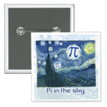 Pi in the Sky Gift Ideas Pinback Button