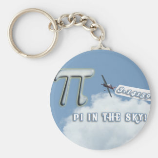 PI IN THE SKY! KEYCHAIN