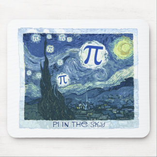 Pi in the Sky Mouse Pad