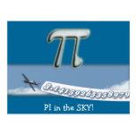PI IN THE SKY! POST CARD