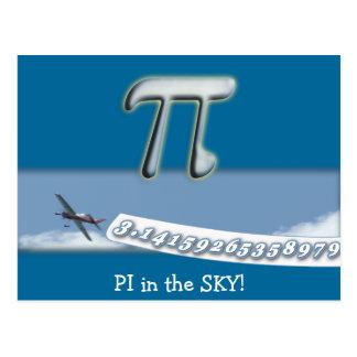 PI IN THE SKY! POSTCARD