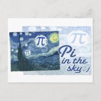 Pi in the Sky Postcard