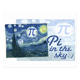 Pi in the Sky Postcard
