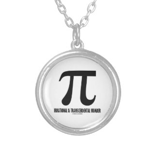 Pi Irrational And Transcendental Number (Math) Jewelry