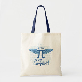 Pi is my Co-Pilot Tote Bag