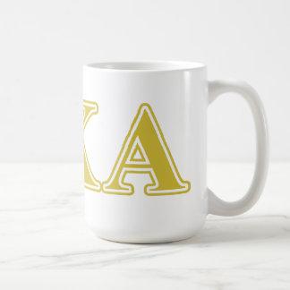 Pi Kappa Alpha Gold Letters Coffee Mug