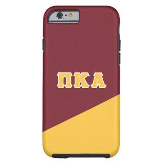 Pi Kappa Alpha | Greek Letters Tough iPhone 6 Case
