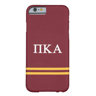 Pi Kappa Alpha | Sport Stripe Barely There iPhone 6 Case