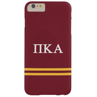 Pi Kappa Alpha | Sport Stripe Barely There iPhone 6 Plus Case
