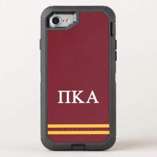Pi Kappa Alpha | Sport Stripe OtterBox Defender iPhone 7 Case