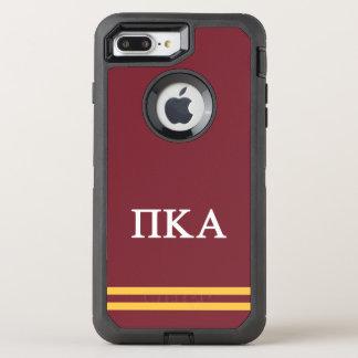 Pi Kappa Alpha | Sport Stripe OtterBox Defender iPhone 7 Plus Case
