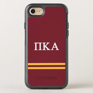 Pi Kappa Alpha | Sport Stripe OtterBox Symmetry iPhone 7 Case