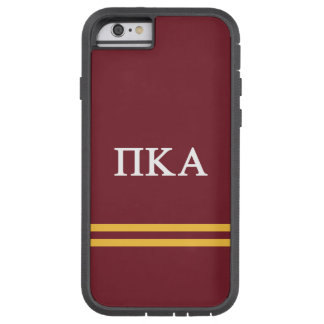 Pi Kappa Alpha | Sport Stripe Tough Xtreme iPhone 6 Case