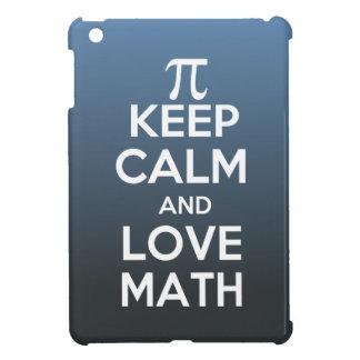 Pi keep calm and love math case for the iPad mini