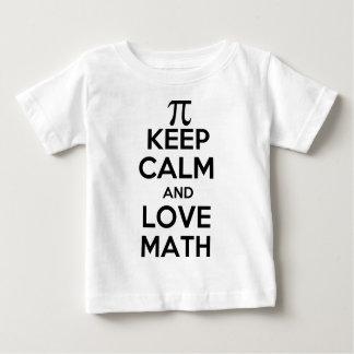 Pi keep calm and love math slogan shirt