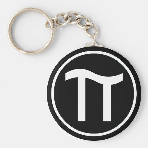Pi Keychain
