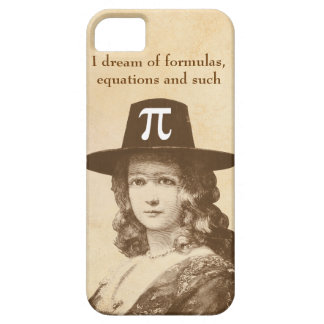 Pi Lady Dreams iPhone 5 Case