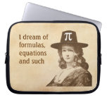 Pi Lady Dreams Laptop Computer Sleeve