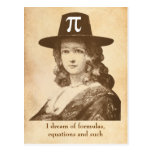 Pi Lady Dreams Post Cards