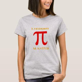Pi Master, Pi Symbol and Value T-Shirt
