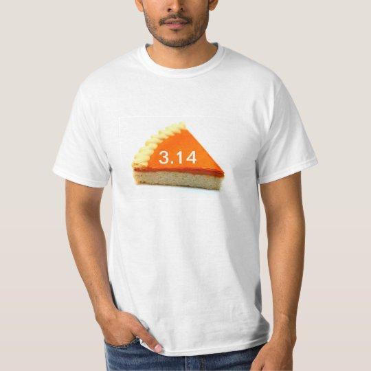 Pi math shirt 3.14