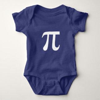 Pi Math Symbol Greek Baby Bodysuit