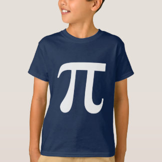 Pi Math Symbol T-Shirt