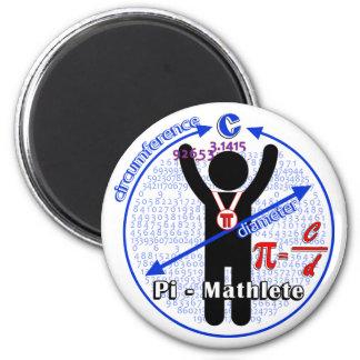 Pi-Mathlete 3.14 Pi Day Magnet