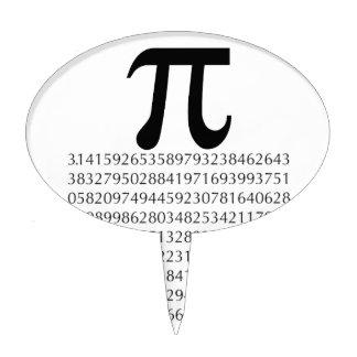 pi  maths cake topper