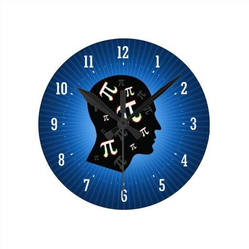 Pi Mind   Geek Wall Clock