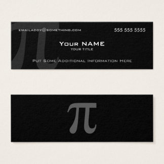Pi Mini Business Card