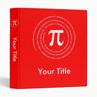 Pi Number Design Binder