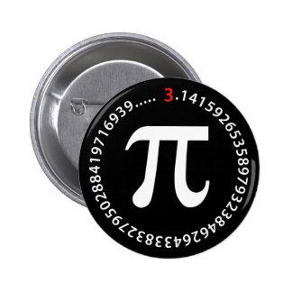 Pi Number Design Button