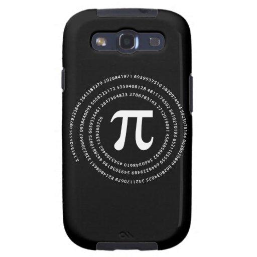 Pi Number Design Samsung Galaxy S3 Cases