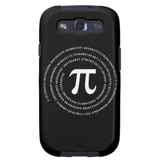 Pi Number Design Galaxy SIII Case