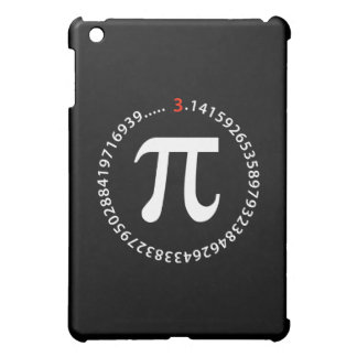 Pi Number Design iPad Mini Cover